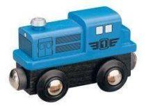 Dieselová lokomotiva - modrá