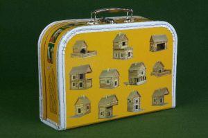 Dřevěné hračky Dřevěná stavebnice Walachia Vario Small Suitcase
