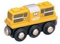 Dieselová lokomotiva - žlutá