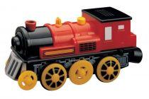 Elektrická lokomotiva červená