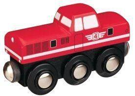Maxim Dieselová lokomotiva -červená