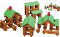 Srubová stavebnice - 300 kusů