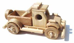 Dřevěné auto Off road