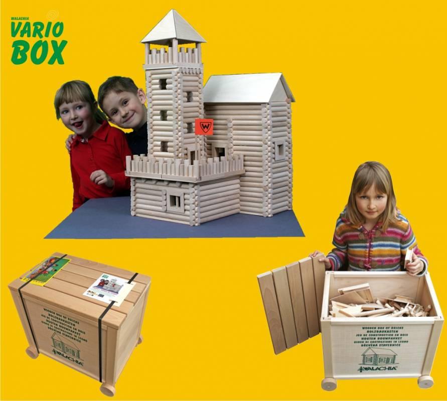 Dřevěná stavebnice Vario Box (Vario+XL+Fort)