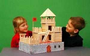 Dřevěná stavebnice Vario Fort