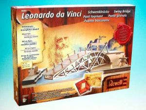Leonardo da Vinci Parabolic Swing Bridge - Pohyblivý most
