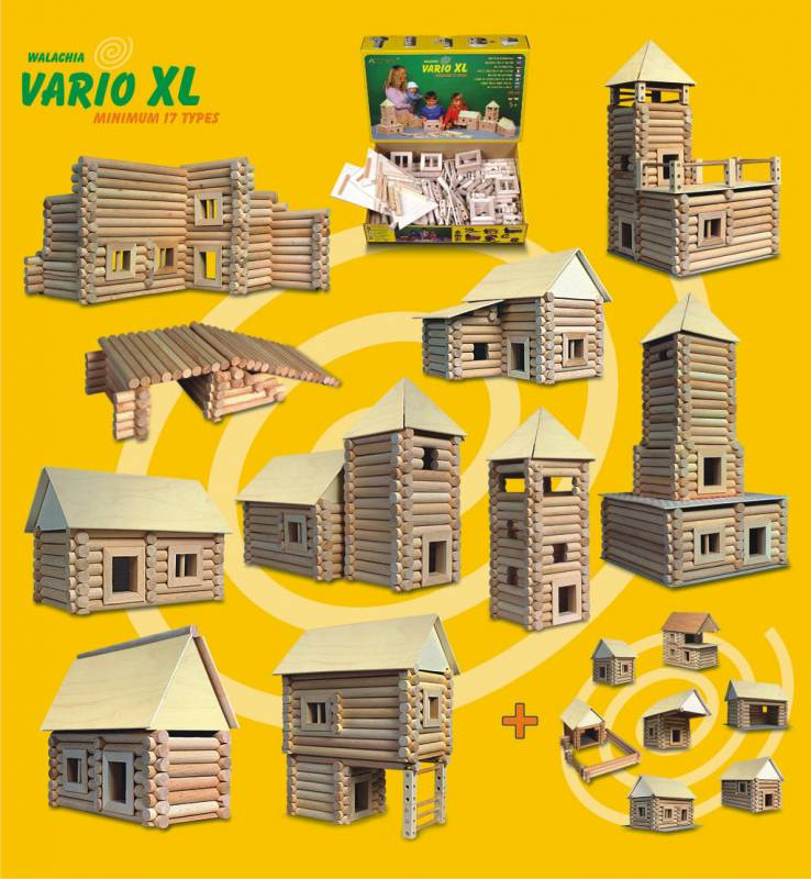 Dřevěná stavebnice Vario XL