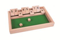 Dřevěné hračky Bigjigs Toys Dřevěná stolní hra v kostky