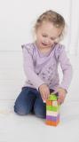 Dřevěné hračky Bigjigs Baby Dřevěné Spojkostky - Basic set Bigjigs Toys