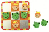 Dřevěné hračky Bigjigs Toys Magnetické piškvorky pohádky 1ks