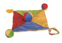 Dřevěné hračky Bigjigs Baby Textilní muchlánek Bigjigs Toys