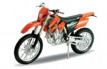 Welly - Motocykl KTM 450SX Racing model 1:18 oranžový
