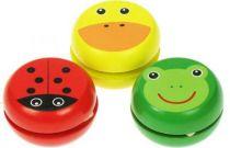Bigjigs Toys Dřevěné jojo 1ks žabka
