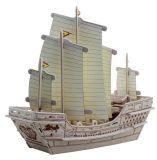 RoboTime 3D puzzle dřevěný koráb Zhenge