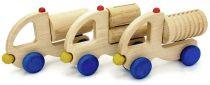 Muzikální hračky - Nákladní auto vroubkovaný válec