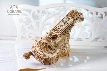 Ugears 3D dřevěné mechanické puzzle Hurdy-Gurdy