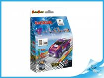 BanBao stavebnice - RaceClub - závodní auto Robster
