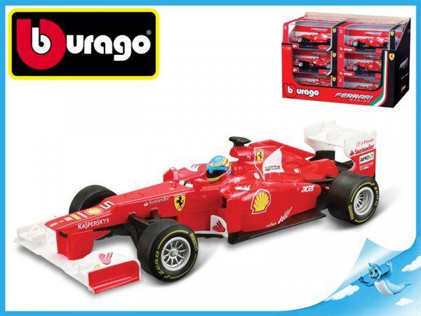 Dřevěné hračky Bburago Race & Play Ferrari Formule F1 (2012 Fernando Alonso) 1:32