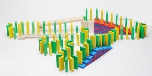 Dřevěné hračky Domino Rallye Gerlich