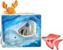 Small Foot Dřevěná knížka podmořský svět