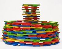 Dřevěné hračky Dřevěné destičky barva Gerlich
