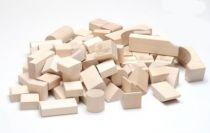 Dřevěné hračky Dřevěné kostky mix 50 natur Gerlich