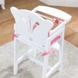 Dřevěné hračky KidKraft Jídelní židlička pro panenku