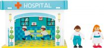 Dřevěné hračky Small Foot Nemocnice s příslušenstvím Small foot by Legler