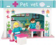 Dřevěné hračky Small Foot Veterinární klinika s příslušenstvím Small foot by Legler