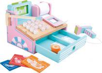 Dřevěné hračky Small Foot Dřevěná pokladna růžová Small foot by Legler