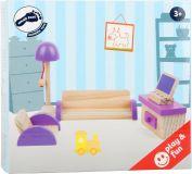 Dřevěné hračky Small Foot Dřevěný nábytek Obývací pokoj Small foot by Legler