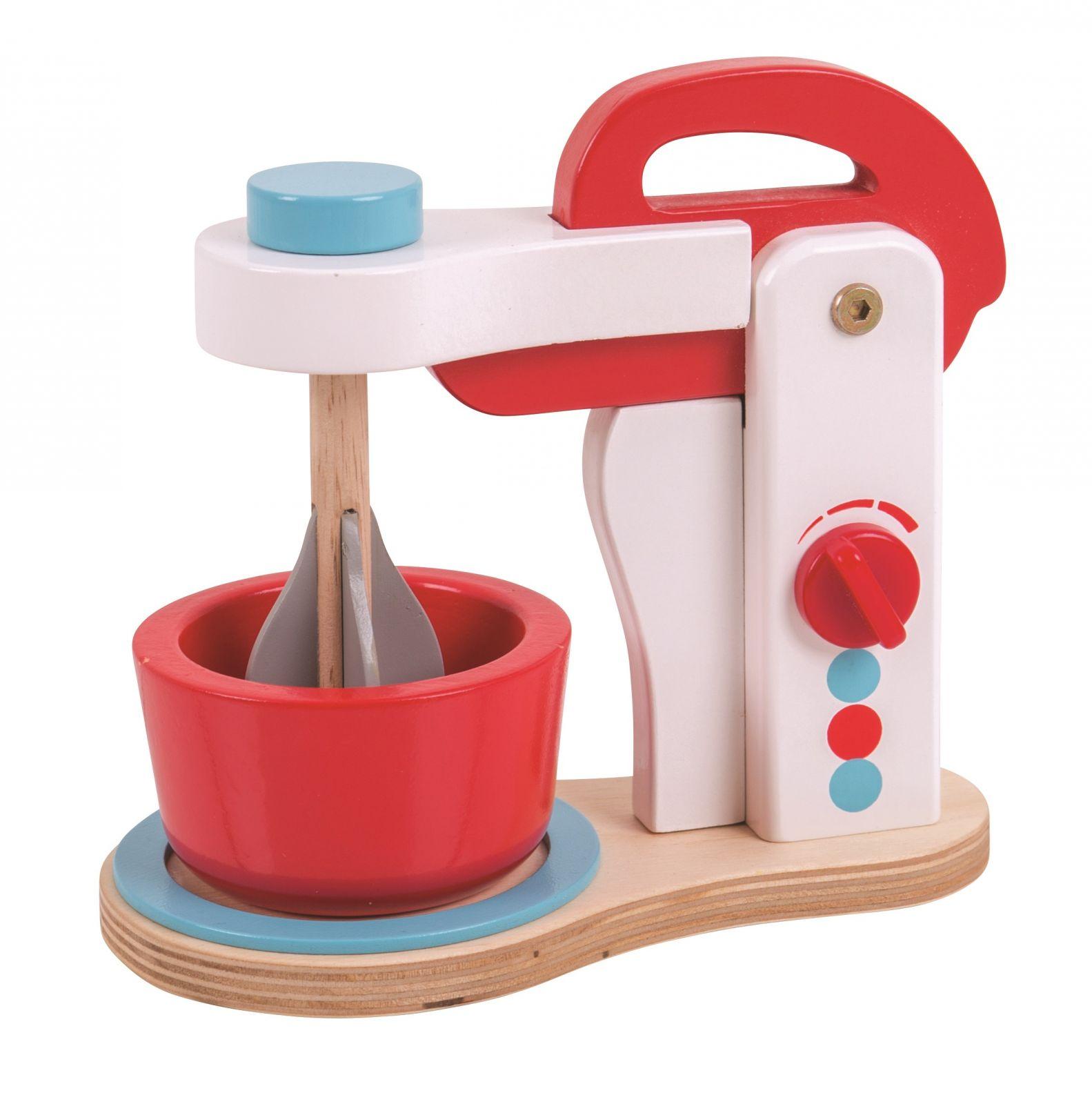 Dřevěné hračky Bigjigs Toys Dřevěný kuchyňský robot