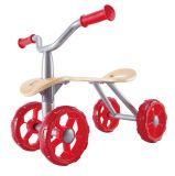 Dřevěné hračky Hape Odrážedlo červené