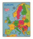 Bigjigs Toys puzzle - Mapa Evropy