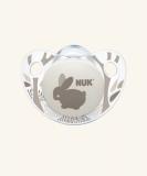 NUK Dudlík Trendline Adore V1,SI (0-6 měs.) růžová