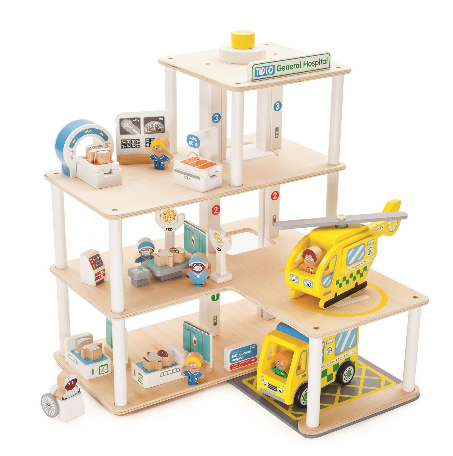 Dřevěné hračky Tidlo Všeobecná nemocnice