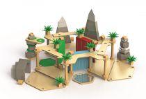 Tidlo dřevěná pevnost Divočina