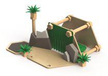 Dřevěné hračky Tidlo Postav si svou pevnost
