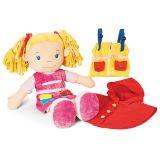 Dřevěné hračky Velká látková panenka Tola Bigjigs Toys