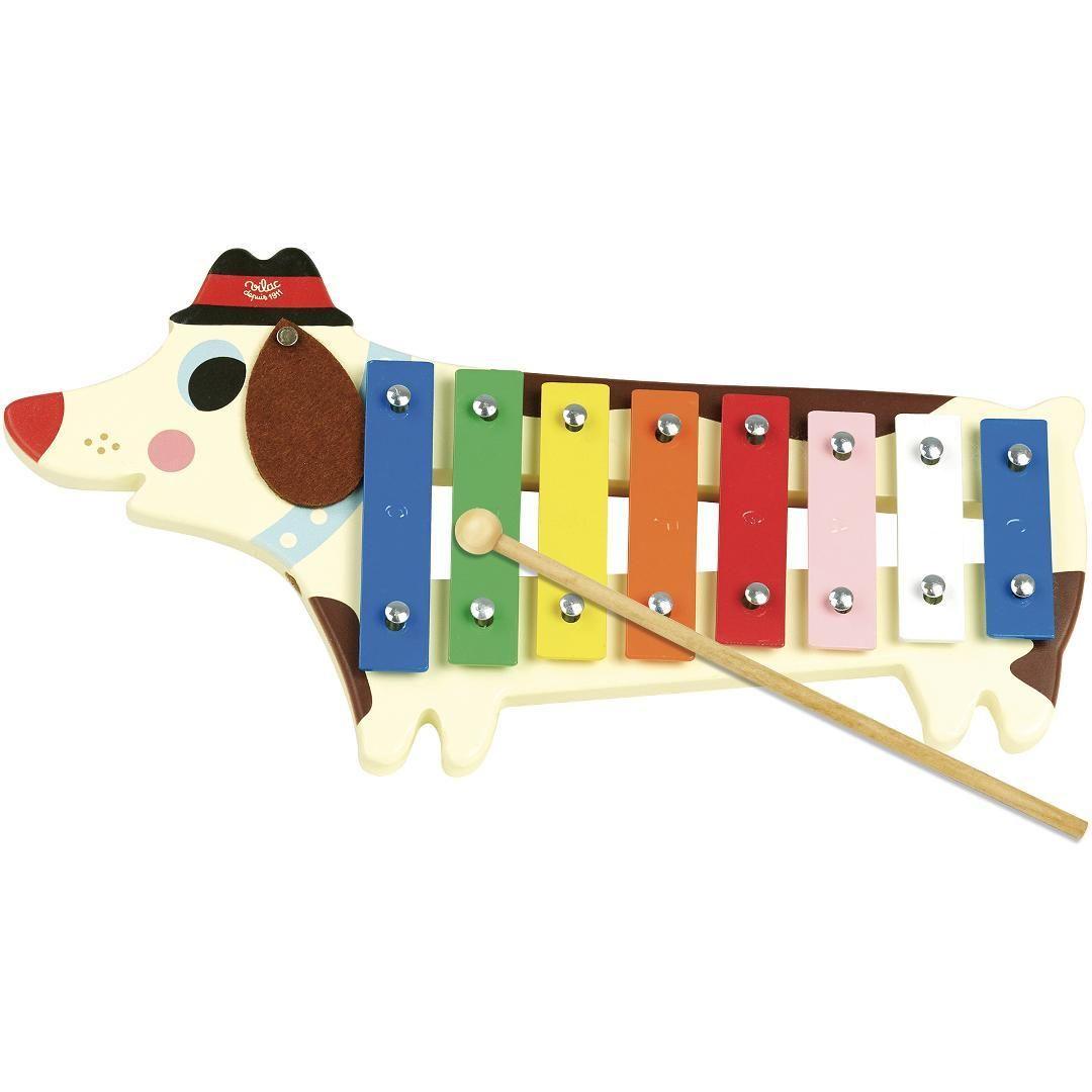 Dřevěné hračky Vilac Xylofon pejsek