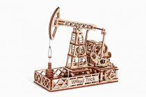 Wood Trick 3D mechanické puzzle - Ropný jeřáb