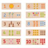 Bigjigs Toys Edukativní puzzle počítání