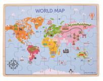 Bigjigs Toys puzzle - Mapa světa