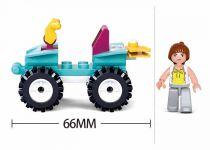 Dřevěné hračky Sluban Girls Dream Holidays M38-B0599 Plážová čtyřkolka
