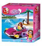 Dřevěné hračky Sluban Girls Dream Holidays M38-B0600A Vznášedlo