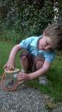 Dřevěné hračky Bigjigs Toys Nádobka na pozorování hmyzu