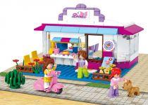 Sluban Girls Dream Town M38-B0528 Drink bar