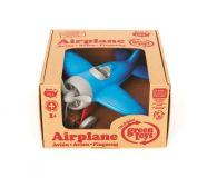 Dřevěné hračky Green Toys letadlo modré