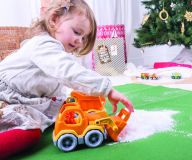 Dřevěné hračky Green Toys Nakladač