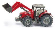 SIKU Farmer - Traktor Massey Ferguson s předním nakladačem